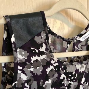 Beautiful Purple and Black Camouflage Blouse